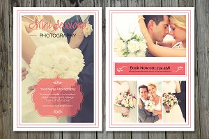 Wedding  Mini Session Template-V170
