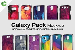 Galaxy Pack - 2d Case Mock-Up