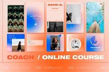 100 Insta Coach Creator Social Kit