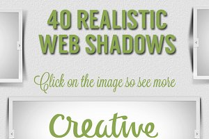40 Realistic Web Shadows