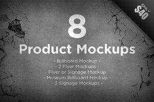 8 Product Mockups