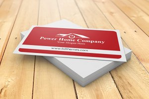 Power Home Company Visiting Card