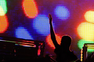 Electronic music concert