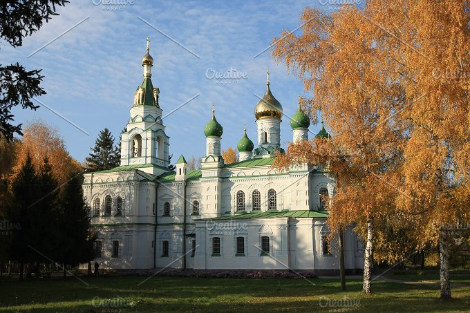 Samsonovskja church. Poltava.Ukraine - Architecture