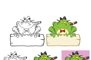 Mobster Frog Collection