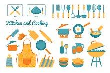 Cooking utensils set
