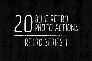 20 Retro Photoshop Actions