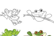 Happy Jumping Frogs Collection