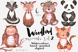 Woodland Animals Vol.2