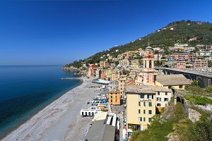 Liguria - Sori overview