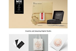Mix Responsive WordPress Theme