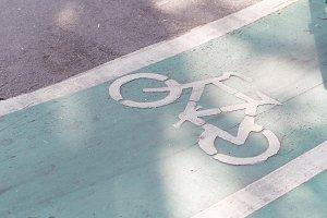 Road bike path