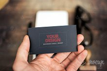 "PSD Mockup Business Card CI 2 ""A"""