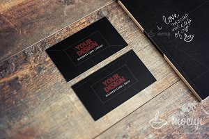 "PSD Mockup Business Card CI 2 ""C"""