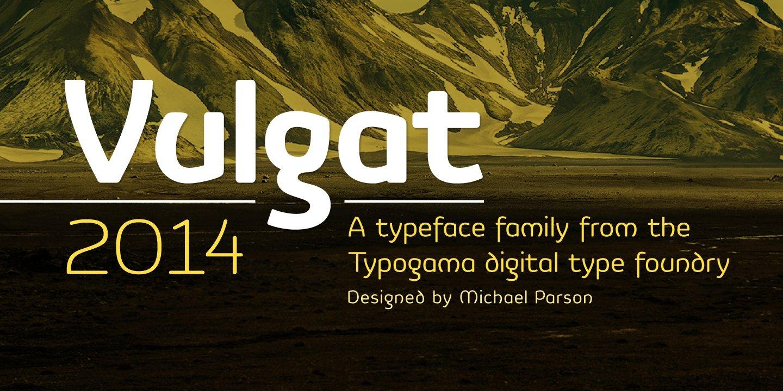 Vulgat ~ Sans Serif Fonts ~ Creative Market