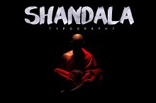 Shandala Brush Typeface