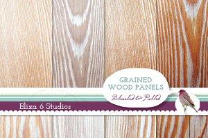 Natural Wood Grain Digital Textures