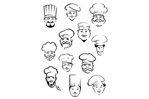 Chefs and bakers in toque