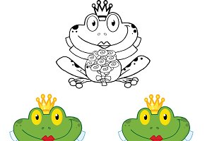 Smiling Bride Frog Collection