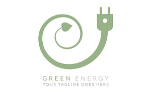 Green Energy (Logo Template)