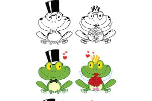 Groom and Bride Frog Collection