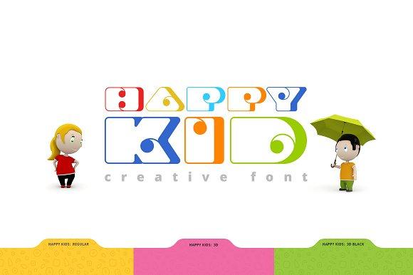 Happy Kid Fancy Font