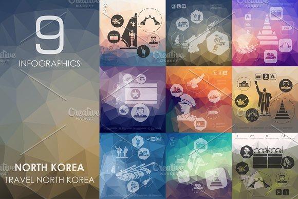 9 North Korea infographic