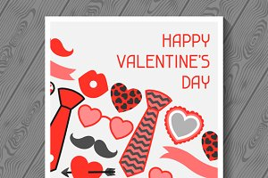 Happy valentines day greeting cards.