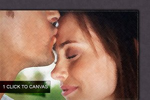 One Click To Canvas