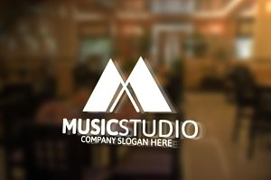Music Studio Logo -25%off