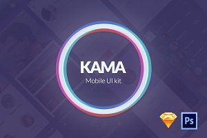 Kama - Mobile UI Kit