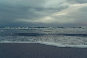 background with sea