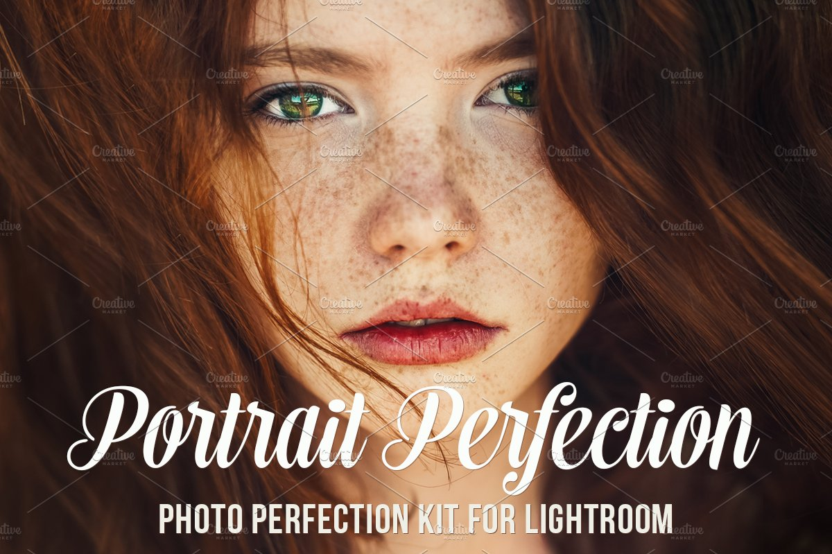 Portrait Lightroom Presets and Brush - Actions - 1