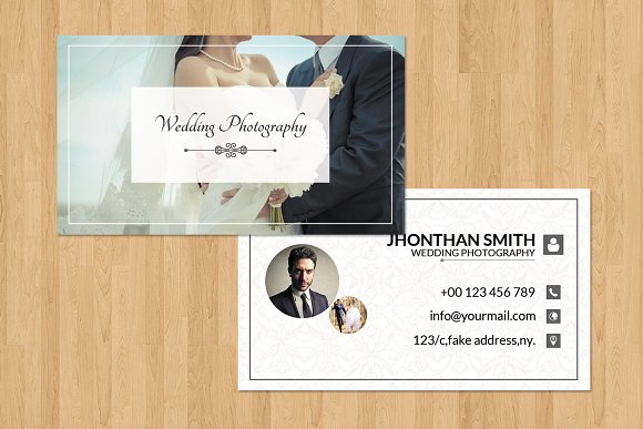 Photographer business card v03 business card templates creative photographer business card v03 business card templates creative market reheart Image collections