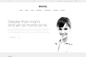BRAVEL Website Template