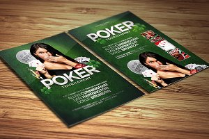 Poker - Flyer Template