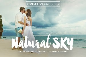 70 Natural Sky Overlays