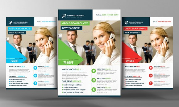 Staffing recruitment agency flyer flyer templates for Recruiting brochure template