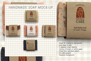 Handmade Soap Marketing Kit
