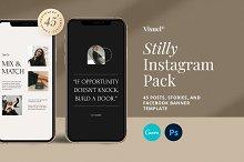 Stilly Instagram Pack | PS & Canva