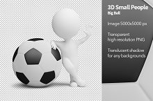 3D Small People - Big Ball
