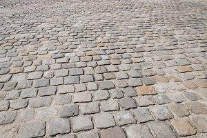 Stone pavement