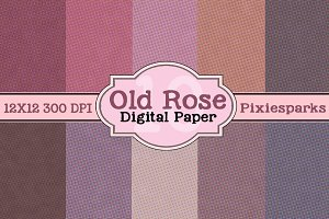 Old Rose Digital Paper
