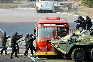 Military training operation