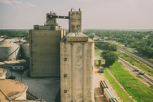 Abandoned Grain Mill