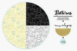 Envelopes Seamless Patterns