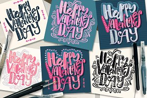 """Happy Valentines Day""cards"
