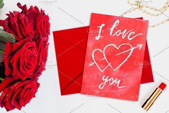 Valentine's card I love you