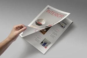 Magazine/Editorial Template 07