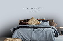 Wall Mockup #69, Wallpaper Mockup